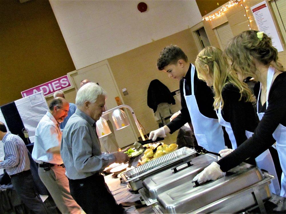 Food Table Chesterton Academy